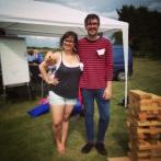 Matt & Hannah at Harvington Village Fete