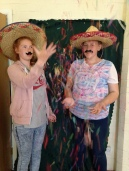 Megan & Lauren getting in the Mexican spirit at our Summer Fiesta!