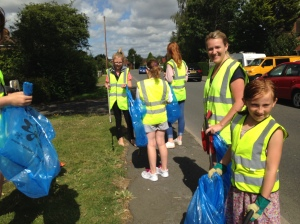 Harvington Litter Pick