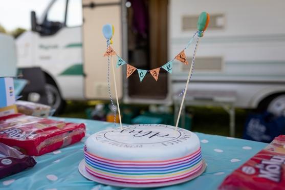 Our celebration cake!