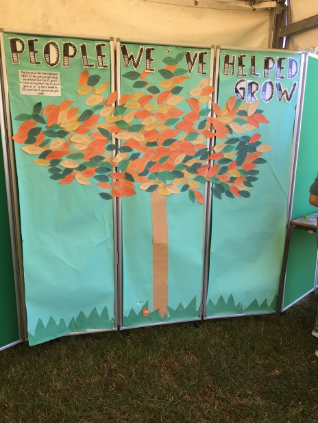 Our growth tree taking shape