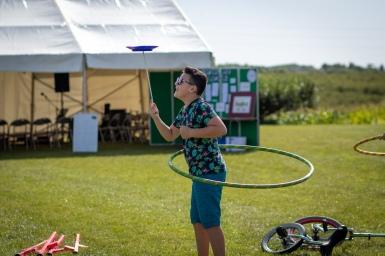 Some fabulous circus skills!